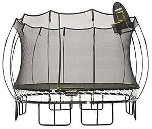 Springfree S113 - Large Square 340 cm x 340 cm surface de saut totale (équivalent à 400 cm x 400 cm) maille y compris