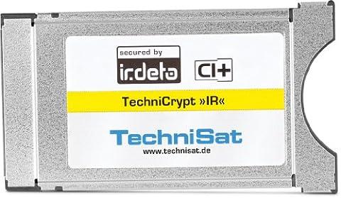 TechniSat TechniCrypt IR Modul CI mit Entschlüsselung Programme verschlüsselten Silber