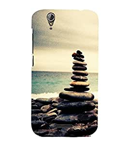 Vizagbeats Stone formation Back Case Cover for ACER Z630