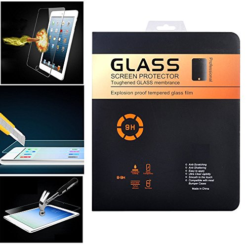iPad Pro Screen Protector FusionTech® [Premium Quality] Ultra Thin Anti Bubble Tempered Glass Screen Protector for iPad Pro 12.9 inch {0.25D, 0.33m} [1-Pack]