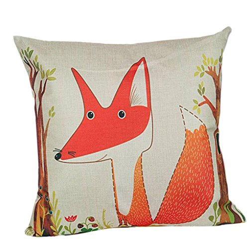 Clearance-Kavitoz-Cushion-Cover-Fox-Sofa-Bed-Home-Decoration-Festival-Party-Festival-Pillow-Case