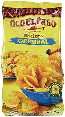 Old El Paso Original Nachips Corn Tortilla Chips, 200g