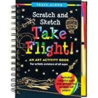 Scratch & Sketch Take Flight (Trace-Along): An Art Activity Book for Artistic Aviators of All Ages