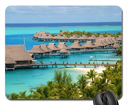 hilton-bora-bora-resort-water-bungalows-over-blue-lagoon-ocean-mouse-pad-mousepad-beaches-mouse-pad