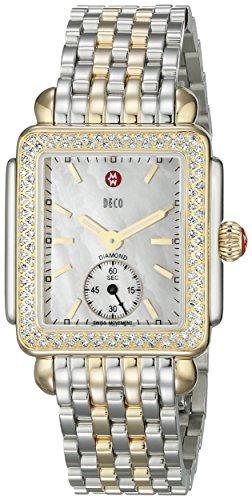 Michele MWW06V000023 - Orologio da polso, acciaio inox placcato, colore: oro