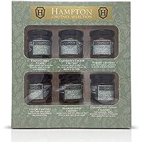 Hampton conserva el juego de regalo Chutneys & Pickles Mini Los frascos de 35 g, incluye Potting Shed Pickle, Chutney Gardener\'s Choice, Tomate, Cebolla, Bramley Apple, Cebolla Caramelizada