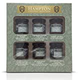 Hampton conserva el juego de regalo Chutneys & Pickles Mini Los frascos de 35 g, incluye Potting Shed Pickle, Chutney Gardener's Choice, Tomate, Cebolla, Bramley Apple, Cebolla Caramelizada