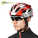 Best GENERIC Mountain Bike Lights - Generic Red Black : ROCKBROS Mountain Bike Helmet Review
