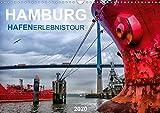 Hamburg Hafenerlebinstour (Wandkalender 2020 DIN A3 quer): Unterschiedliche Ansichten eines Containerhafens (Monatskalender, 14 Seiten ) (CALVENDO Orte)