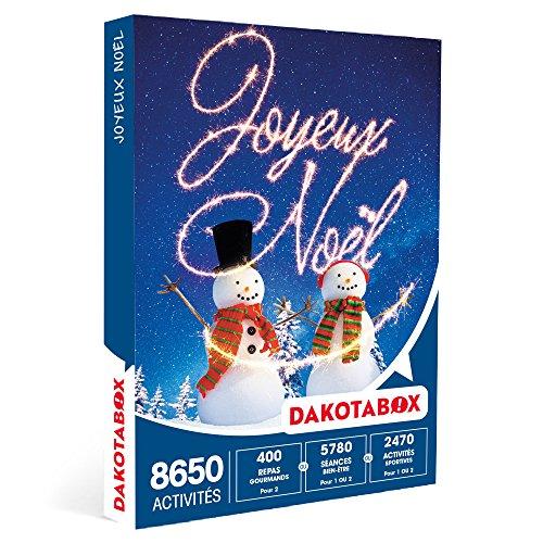 DAKOTABOX - Coffret Cadeau - JOYEUX NOËL - Dîners gourmands, cours de cuisine, ski...
