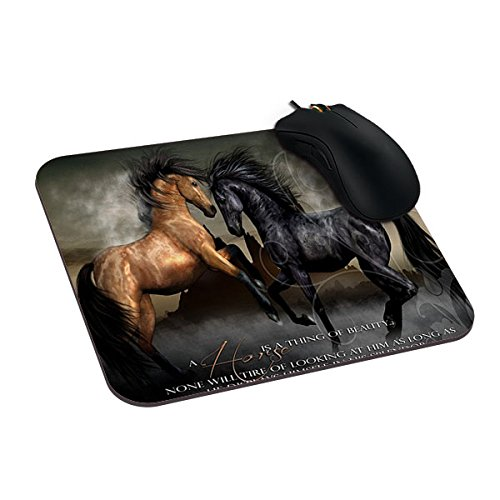 51zmbSLxeSL UK BEST BUY #1Gogoal Mousepad Horse Life New Good Mouse Pad For Gaming 9 X 7 price Reviews uk