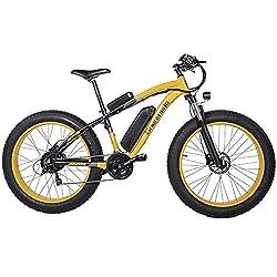 Alomejor 1000W Scooter Motor Brushed Speed Controller Gasgriff Batterieanzeige f/ür E-Bike