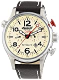 Ingersoll Herren-Armbanduhr XL Lawrence Chronograph Automatik Leder IN3218CR