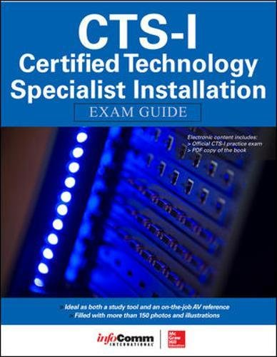CTS-I Certified Technology Specialist-Installation Exam Guide por Shonan Noronha