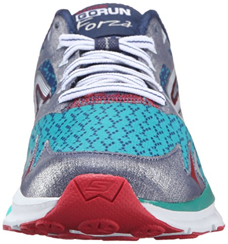 Skechers Go Run Forza Damen Laufschuhe Navy/Teal