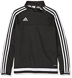 Adidas Y Children's Tracksuit T Tiro15, Children's, Sweatshirt, Sweatshirt Tiro15 Training T Y, Black White
