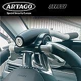 Artago 869 Antifurto Auto Blocca Volante Rinforzato più Adattabile Bloccaggio Basculante