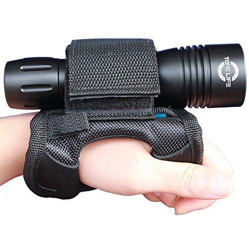 Merlin Sun Soft Goodman Handschuh 01Universal verstellbare Hand und Arm Strap Hüftgurt Soft Hand Halterung Hüftgurt lässt für Dive Lights Unterwasser Taschenlampe und LED Taschenlampe Lampe
