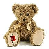 Teddybär Fridolin, 40 cm, sitzend, Plüschteddybär, Plüschtier, Exclusiv-Teddy