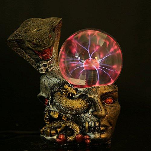 Astratto decorativo ornamenti di cristallo lampada magica tecnologia dei mestieri