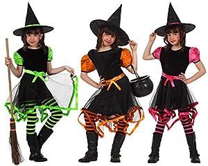 Atosa 70039 - Disfraz de bruja para niña, 10 años (1 unidad, surtido)