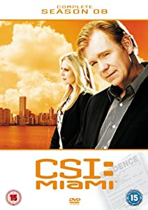CSI: Miami - Complete Season 8 [DVD]