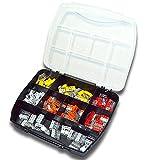 WAGO Klemme 2273 Serie Set Sortiment (110 Stück) inkl. Sortimentskasten 25x 2273-202 | 25x 2273-203 | 25x 2273-204 | 20x 2273-205 | 15x 2273-208