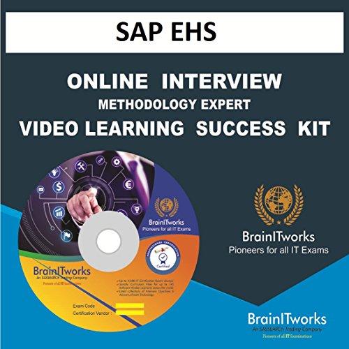 SAP EHS INTERVIEW & METHODOLOGY EXPERT VIDEO LEARNING SUCCESS KIT