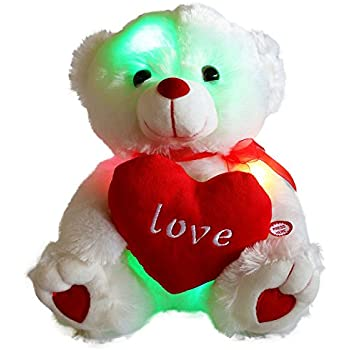 Wewill brand easter gift led light up glow adorable stuffed animals wewill brand easter gift led light up glow adorable stuffed animals soft toys teddy bear with negle Images