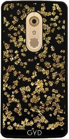 Hülle für ZTE Axon 7 - Gold-Glitter Elegante Luxus by UtArt (Der Golden Glow Of Christmas)