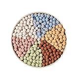 Colorato di argilla espansa giardino della resina Ciottoli Paesaggio Roccia e di ghiaia pietre decorative e ghiaia per paesaggistica Giardinaggio Piante in vaso 1 confezione (500g)