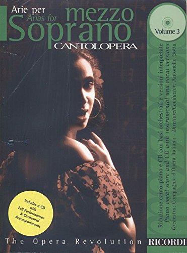 Cantolopera, Volume 3 : Mezzo-soprano et Piano