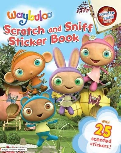 Kids Waybuloo Scratch & Sniff Sticker Book Creative Fun Activity Craft Sheets
