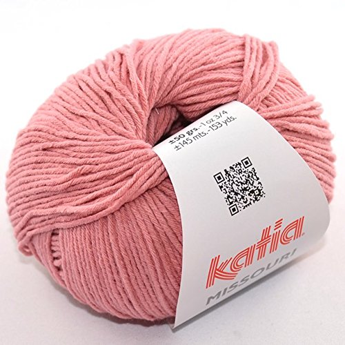 Preisvergleich Produktbild Katia Missouri - Farbe: Rosado (16) - 50 g / ca. 145 m Wolle