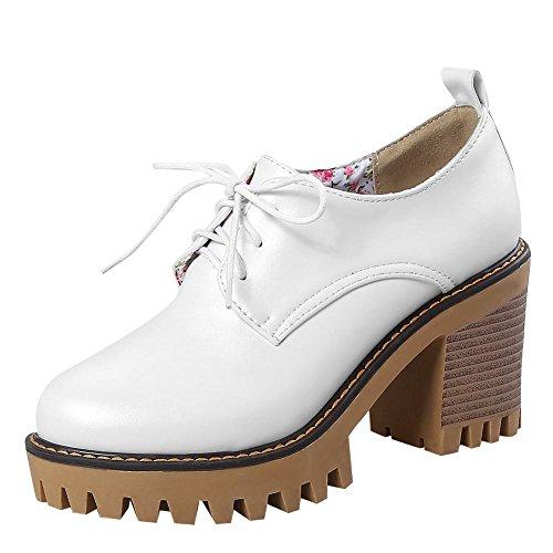 MissSaSa Donna Moda Scarpe Bianco