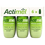 Actimel Fruit & Veg Cultured Shot Green Smoothie 6 x 100g