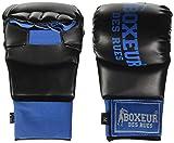 Boxeur Des Rues Serie Fight Activewear Guanti Da Karate E Fit-boxing, Unisex – Adulto, Blu, M