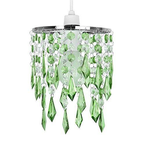 elegant-design-lustre-suspension-abat-jour-decore-avec-des-cristaux-vert-gouttelettes-en-acrylique-e
