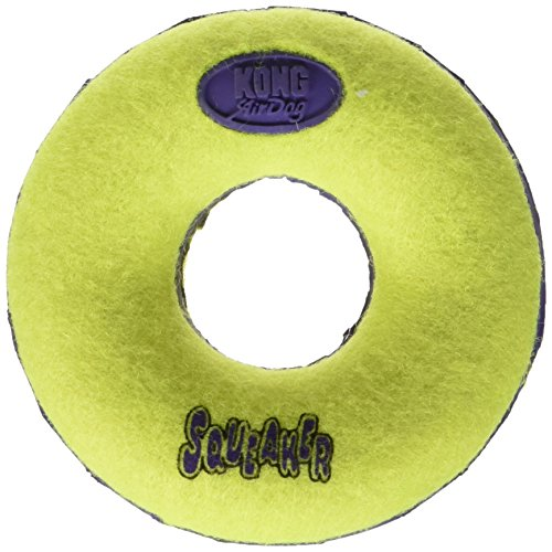 KONG Air Dog Squeaker Donut Dog Toy, Large