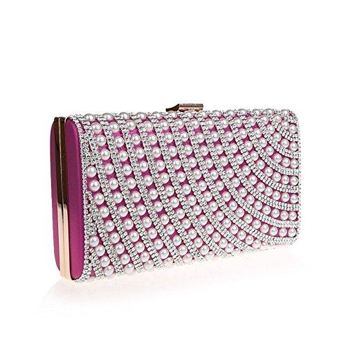 perline/Diamond mano/ borsa da sera moda/Package banchetto/Pochette-A A