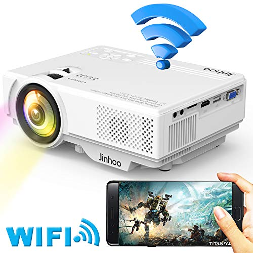 [2019 LATEST WIFI Projector] Jin...