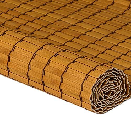 CAIJUN Tenda di bambù Roll Up Alta Densità Parasole Anti-UV Evitare L'abbagliamento al Coperto, 2 Stili, Dimensione Personalizzata (Colore : A, Dimensioni : 100x180cm)