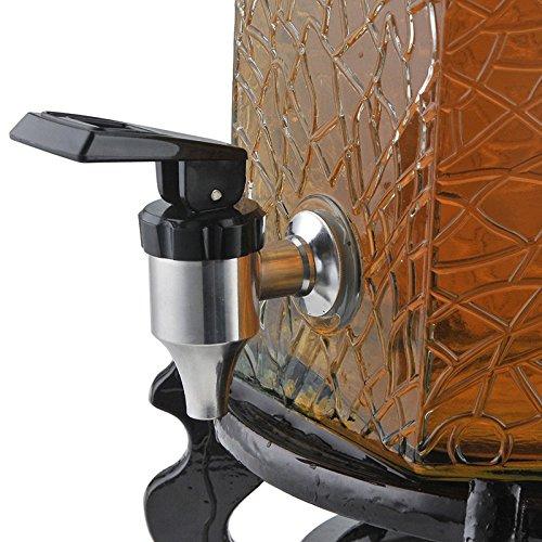 Kohsed 304 Edelstahl Wasserhahn tippen Sie auf Glas Flasche Wein Saft führenden Kaffeemaschine Fass trinken Maschine für Jiutan, Spiegel Lightmodern einfache Luxus Qualität Garantie Home Dekoration
