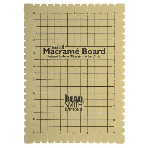 Beadsmith Mini Macrame Board 9x6 Inches by Beadsmith -