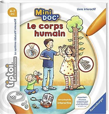 Ravensburger- Mini Doc' -Le Corps Humain Jeu Educatif, 4005556000302