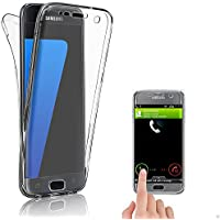 Coque Gel 360 Protection INTEGRAL transparent housse Samsung Galaxy s7 edge