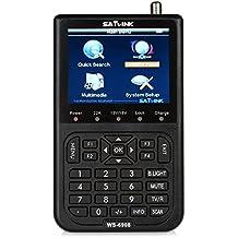 KKmoon WS-6908 3,5 '' DVB-S FTA Ordinateur de Poche LCD Digital Satellite TV Signal Finder Meter USG WS6908