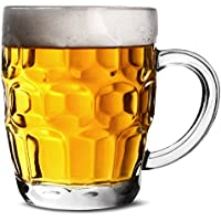 The Great British Half Pint Dimple Mug 10oz / 285ml - Pack of 4 - Traditional Beer Tankards