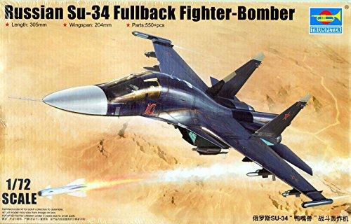 """Trumpeter 01652 - Modellbausatz """"Russian Su-34 Fullback Fighter-Bomber"""""""