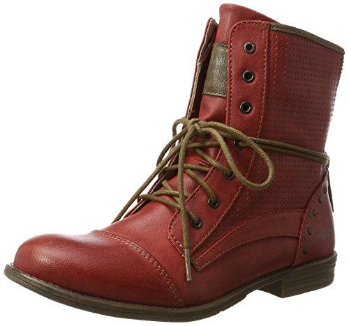 Mustang 1157-503, Bottes Classiques Femme Rouge (5 Rot)